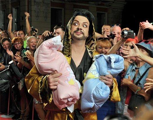 Филипп Киркоров с детьми  в Одессе