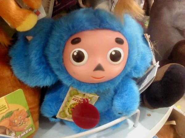 синий чебурашка