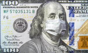 Доллар в маске
