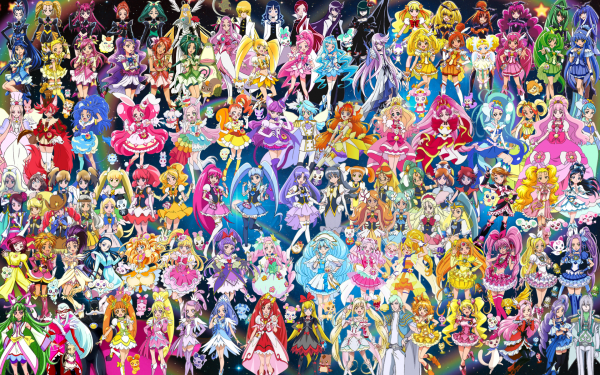 108 Pretty Cure Warriors with Fairies (Updated).png