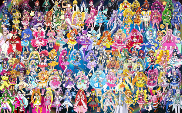 110 Pretty Cure Warriors with Fairies.png