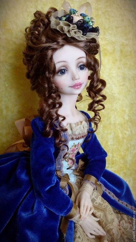 Коллекционные куколки Ирины Носковой.