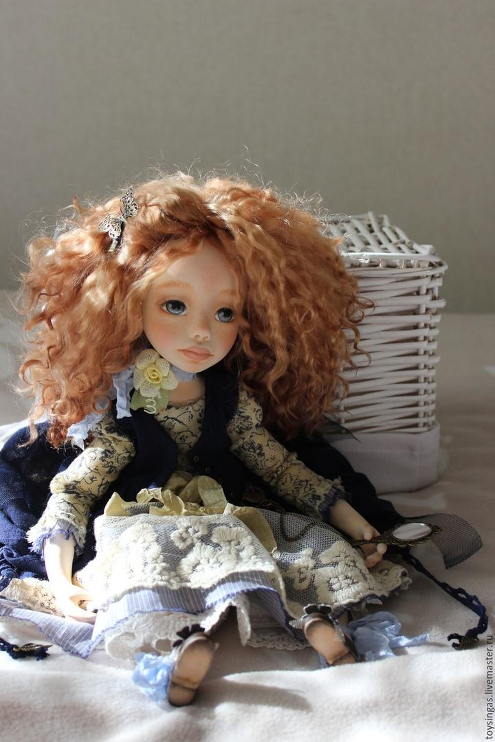Потрясающие куколки от Инги Киселёвой.
