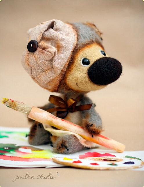 Добрые мишки от Pudra Studio.