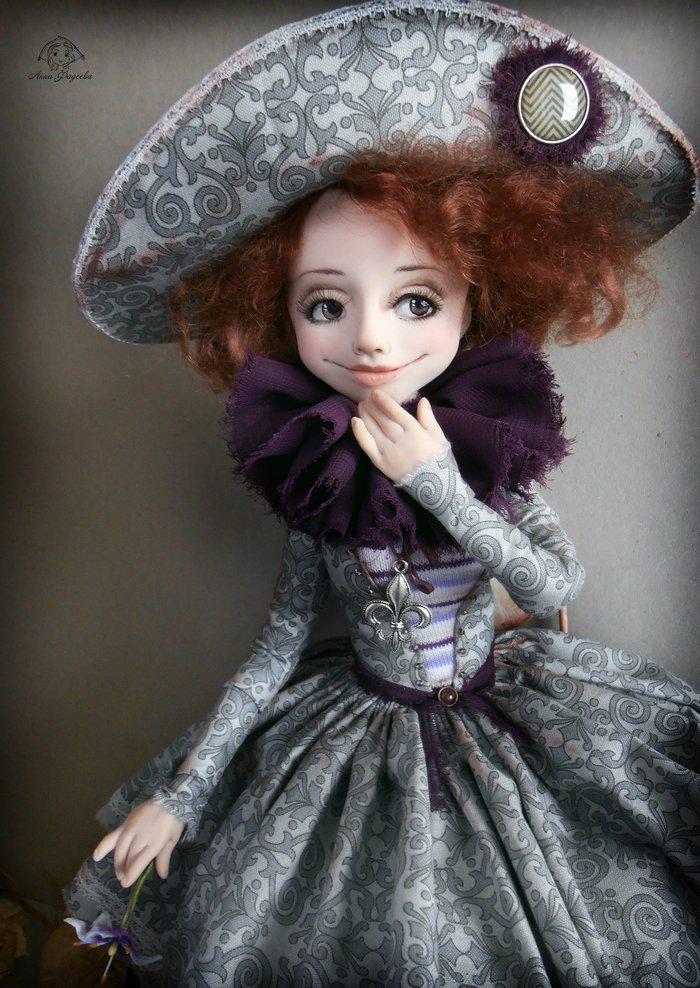 Авторские куколки Анны Фадеевой.
