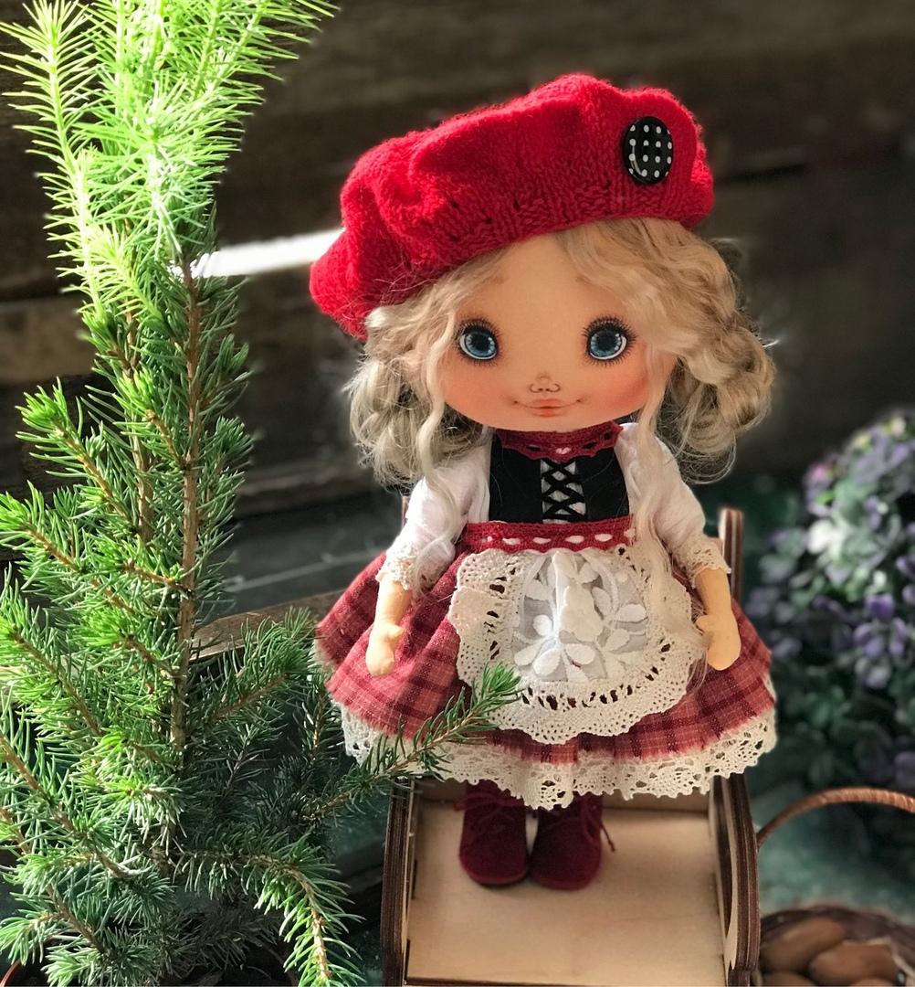 Милые куколки от NelliLand.