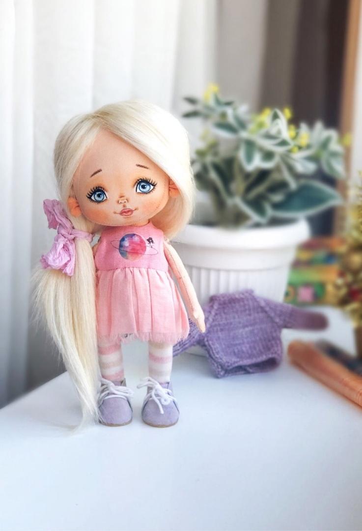Текстильные куколки Elena 39
