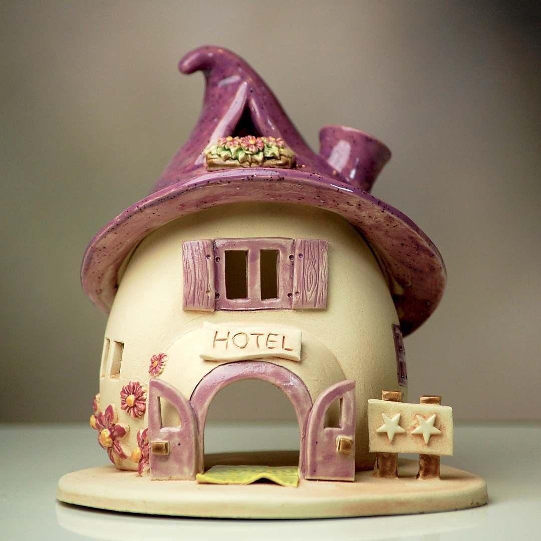 Восхитительной милоты домики от honiglicht