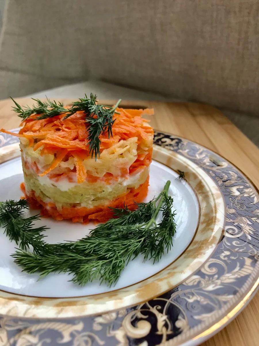 Готовим весенний салат.