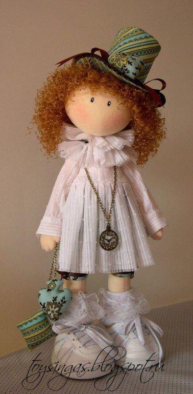 Куклы Инги Киселёвой.