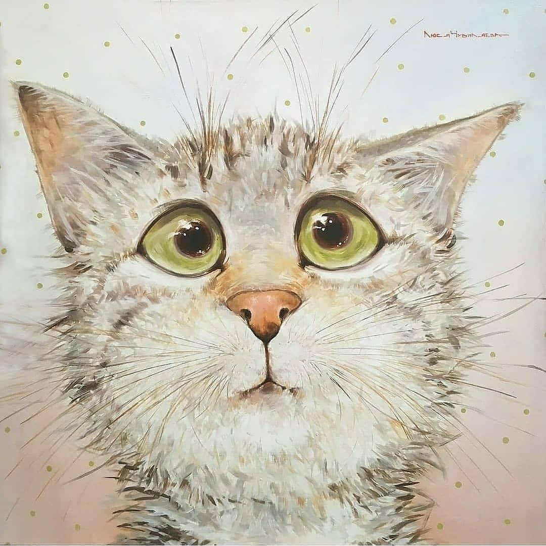 Чудесные котики от moozoriki