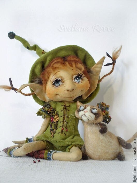 Интересные куклы ручной работы!