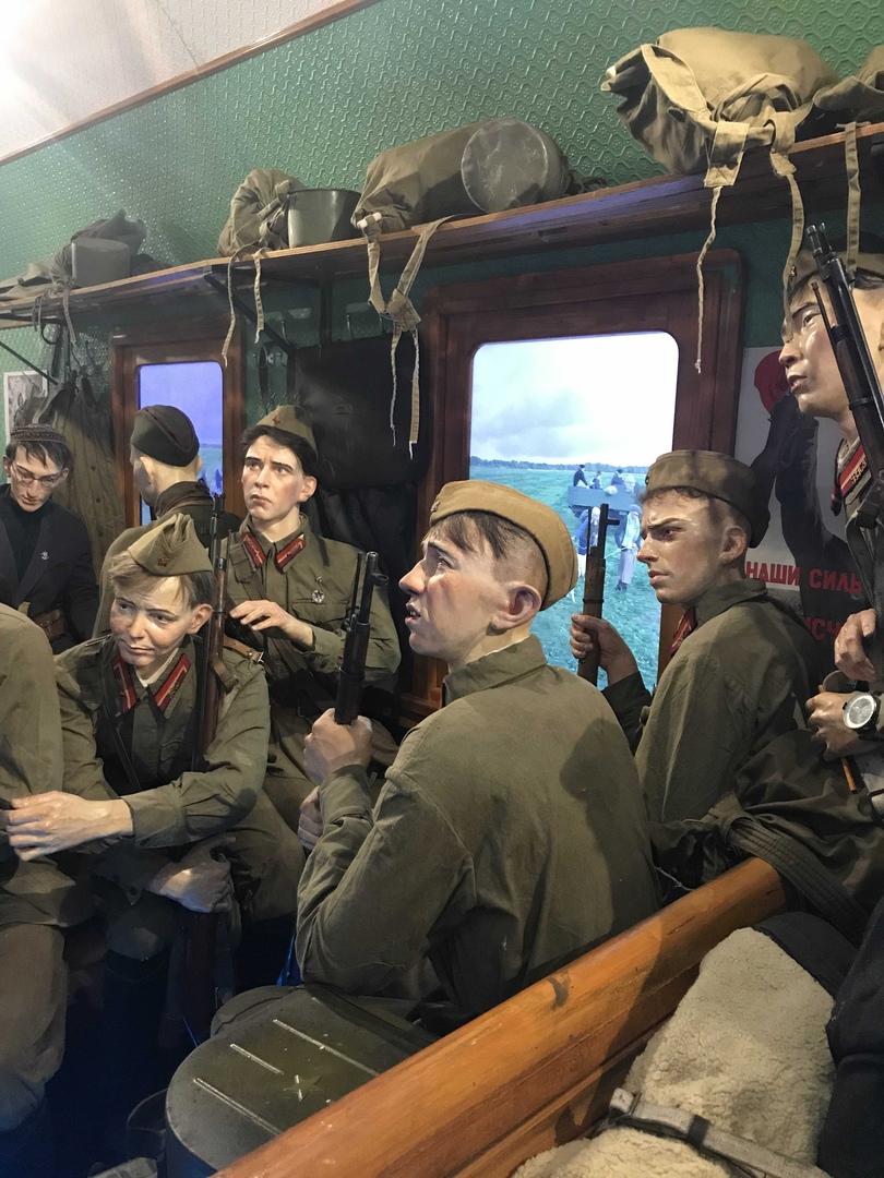 Поезд Победы. музей