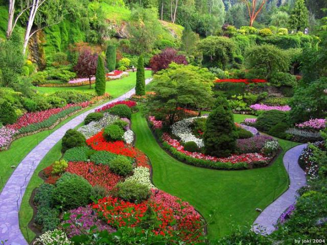 Красивые сады и парки