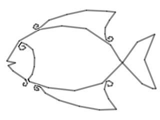 Рыбка из бисера мастер класс.