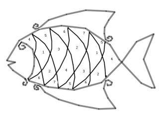 Бисерная бурёнка, рыбка, бабочка.... S320x240