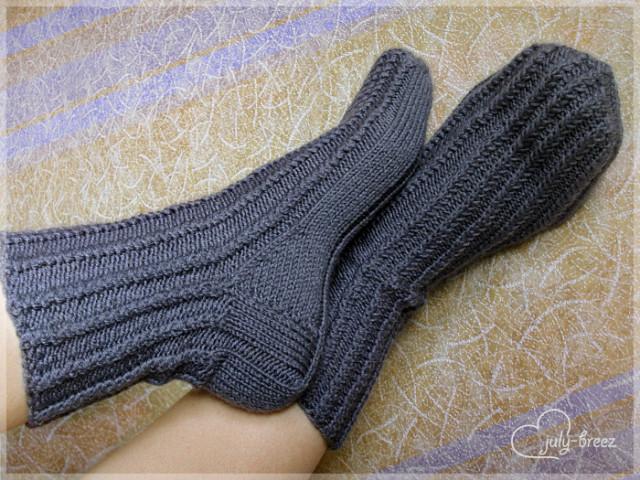 Вязать носки мужские