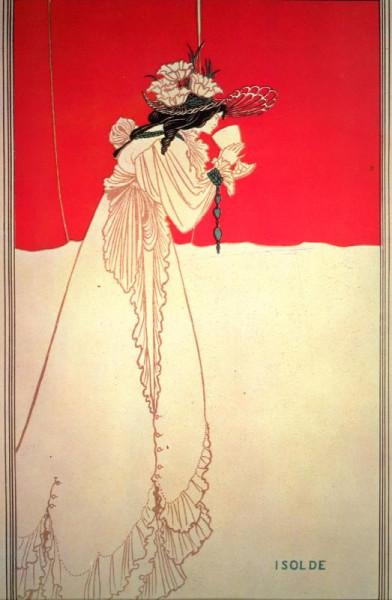 Обри-Бердслей--Isolde