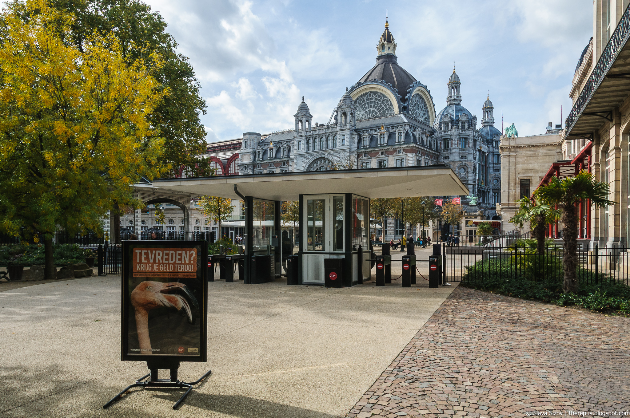 About the zoo in Antwerp