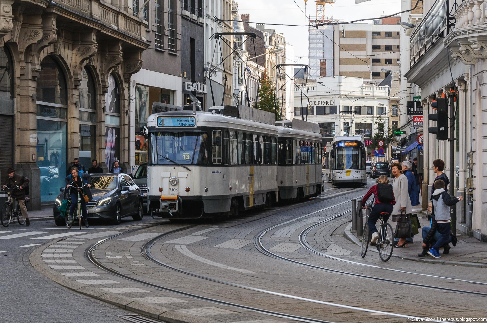 Про антверпенский трамвай
