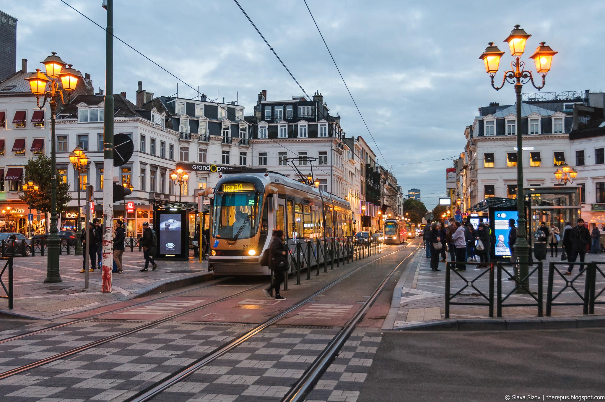 Про Брюссель, часть 4: трамваи