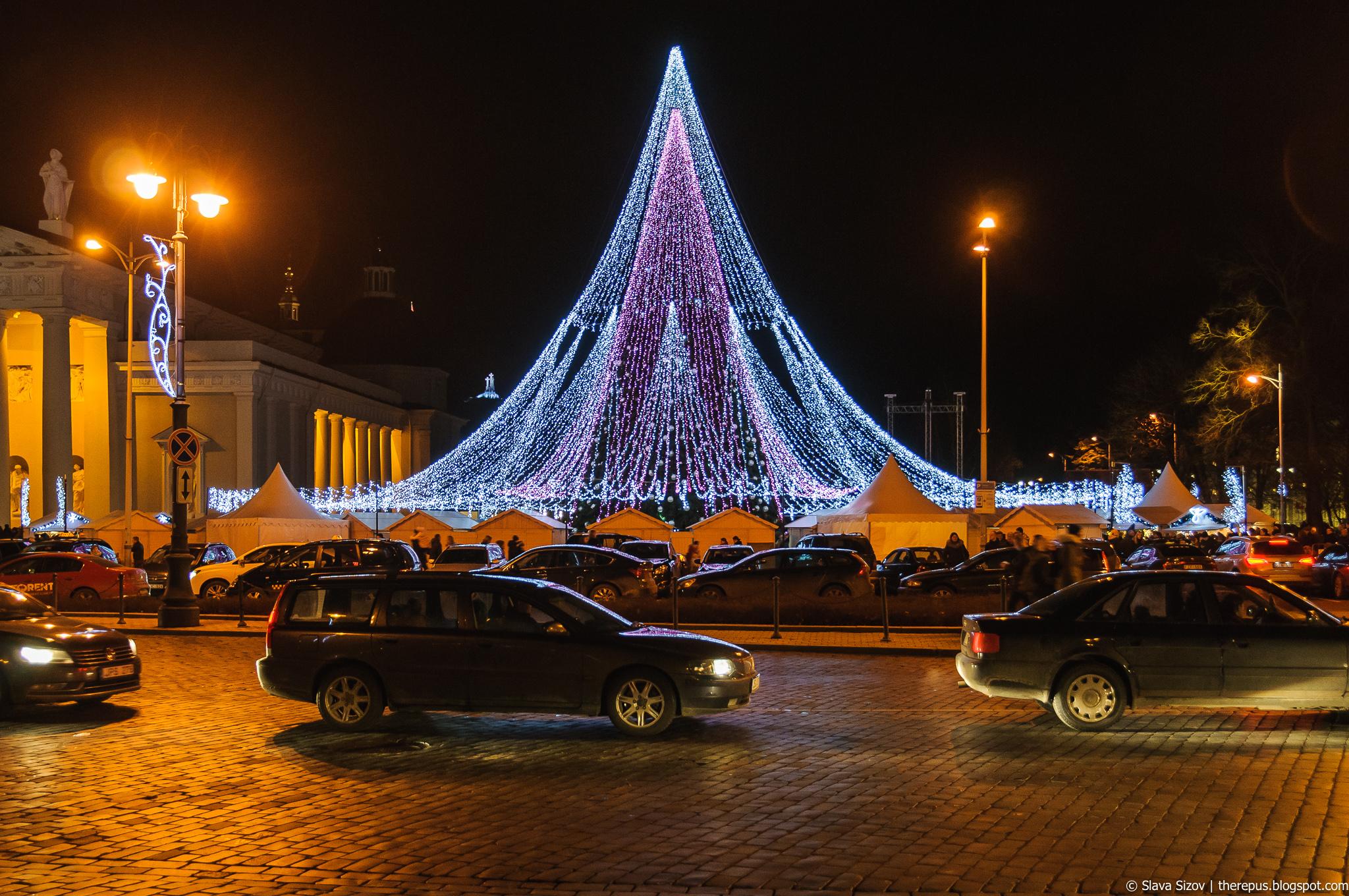 Про Рождественские елки 2017