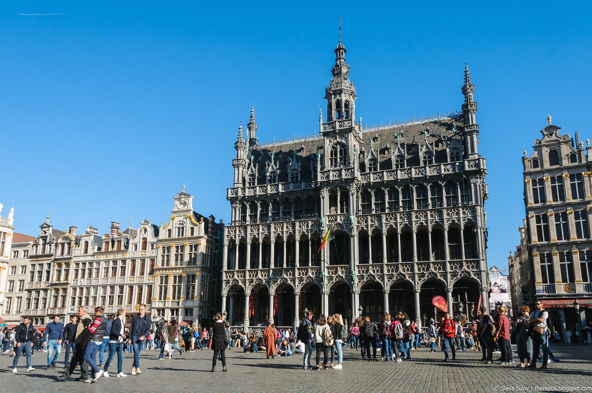 Про Брюссель, часть 6: Гран-плас