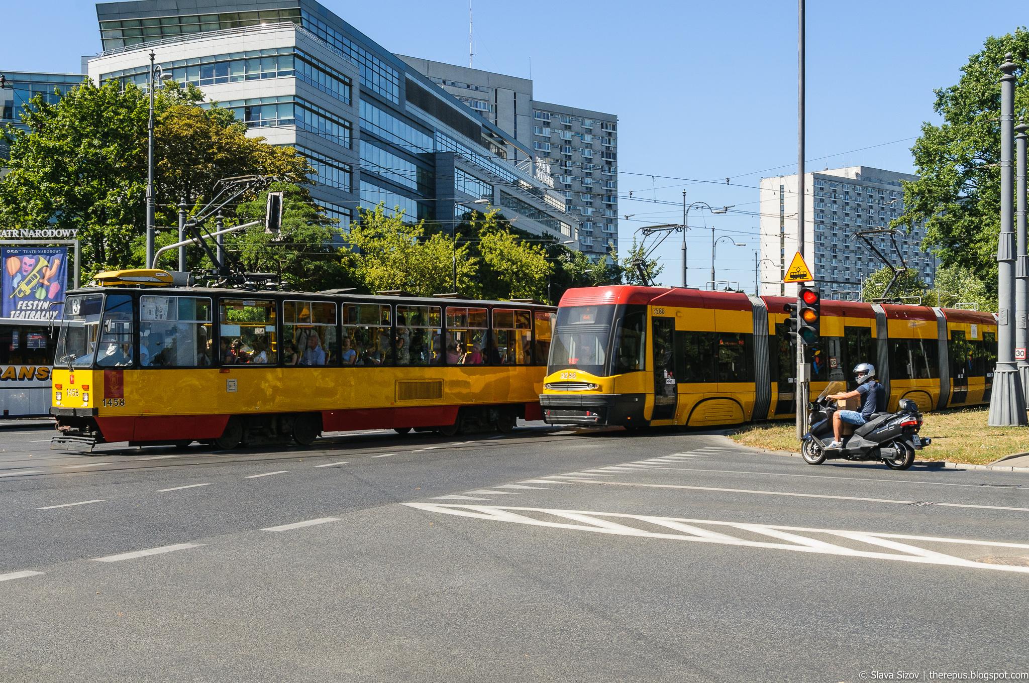 Про Варшавский трамвай