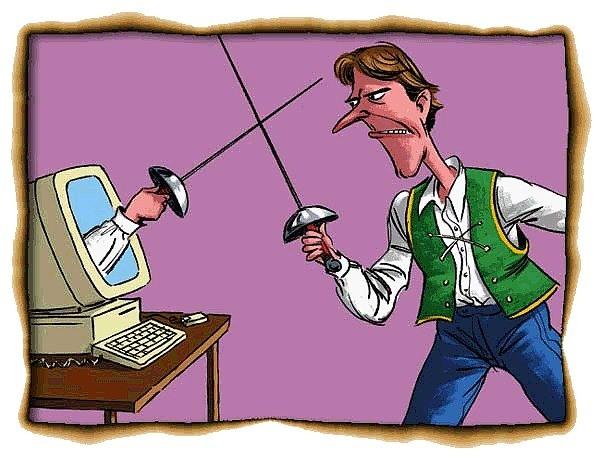 Интернет-воин