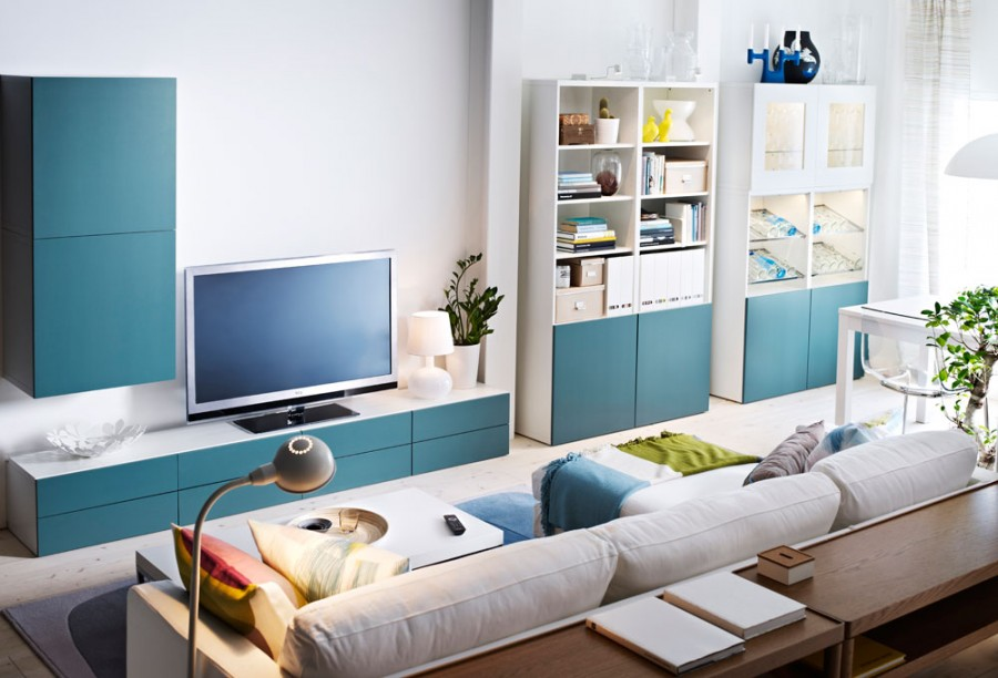 Wohnzimmer ikea besta