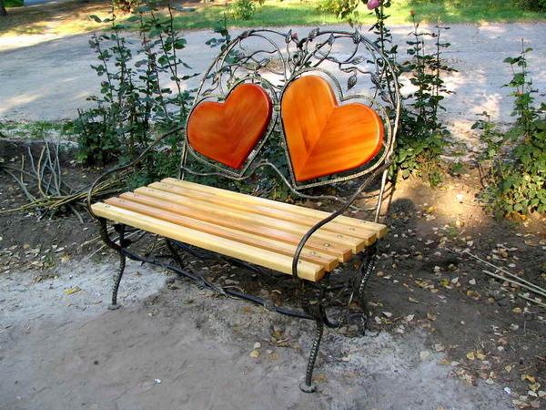 скамейка в парке9