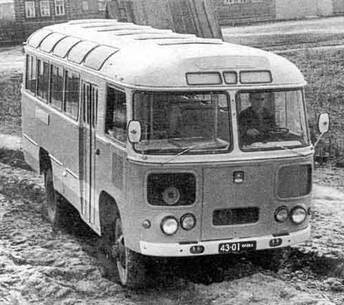 старый автобус - для романа.