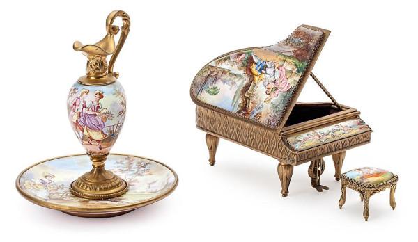 шкатулка рояль
