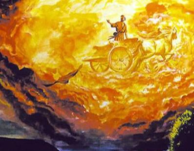гроза - Илия-Пророк на колеснице