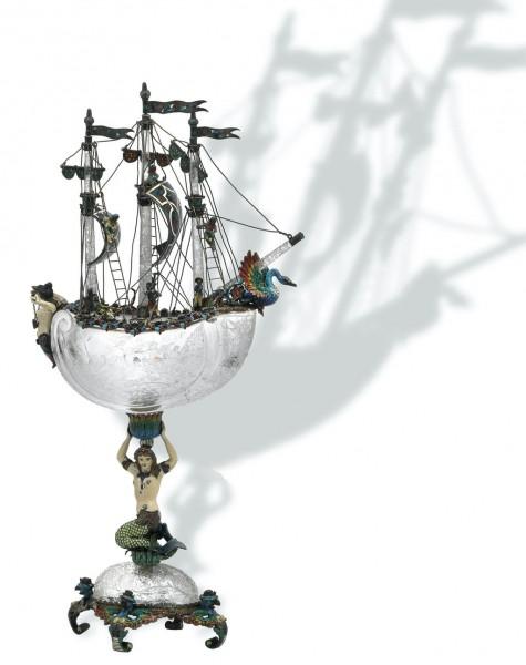 ваза-корабль