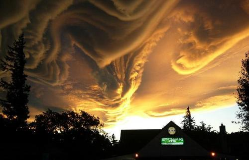 завихрения облаков