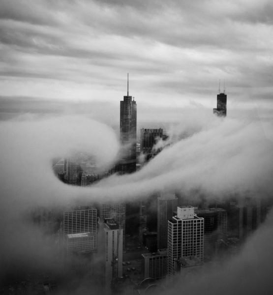 чикаго в облаках