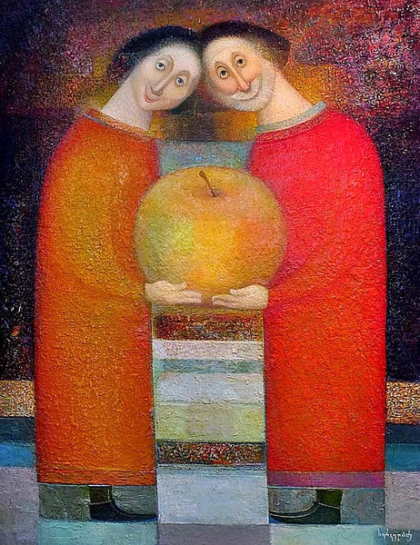 Нико Херкеладзе (Грузия, 1953) «Адам и Ева» 2012