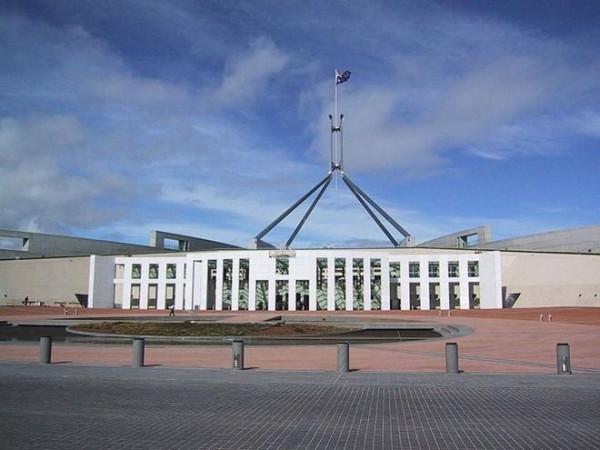 паламент канберра австралия