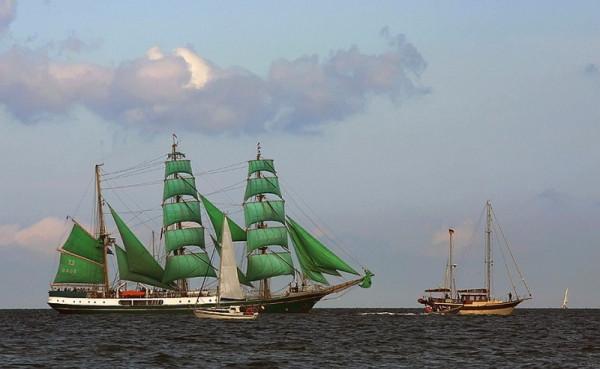 зеленые паруса