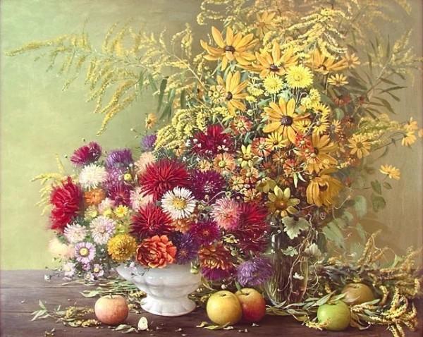 неброские осенние цветы