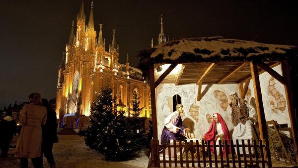 католики и Рождество