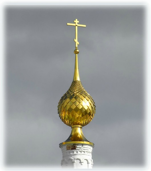 золотая чешуя куполов