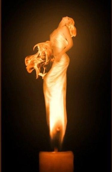 как грустен танец пламени свечи1