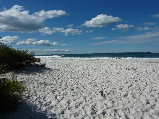 пляж с белым песком Австралия
