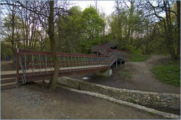 коломенское мосты и лесенки