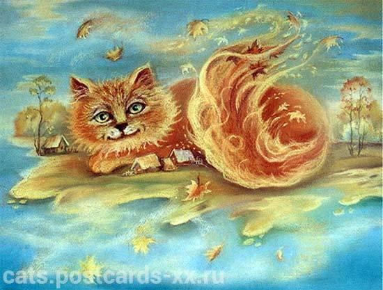 рыжие коты2
