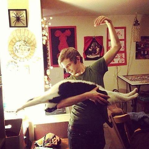 балет с кошкой