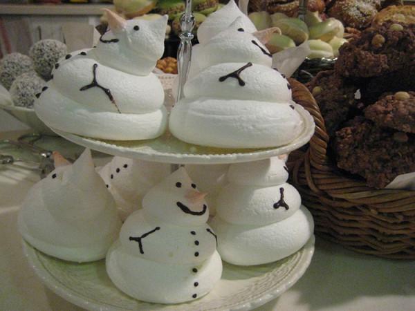 Снежный десерт бнзе