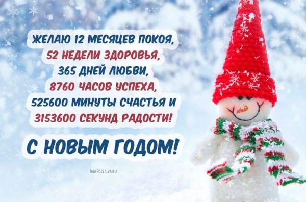 0001 поздравления с новым годом